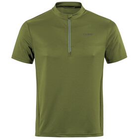 Cube Tour Core Half Zip SS Jersey Men green